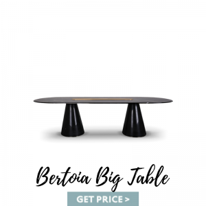Bertoia Big Table