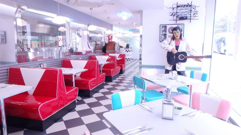 Vintage Restaurants Around The World You Should Check Out; Fifties diner
