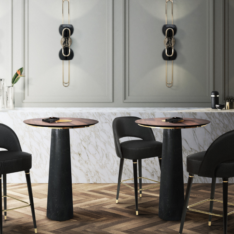 Mid-Century Bar Chairs Meet Modern Lighting Pieces You'll Love