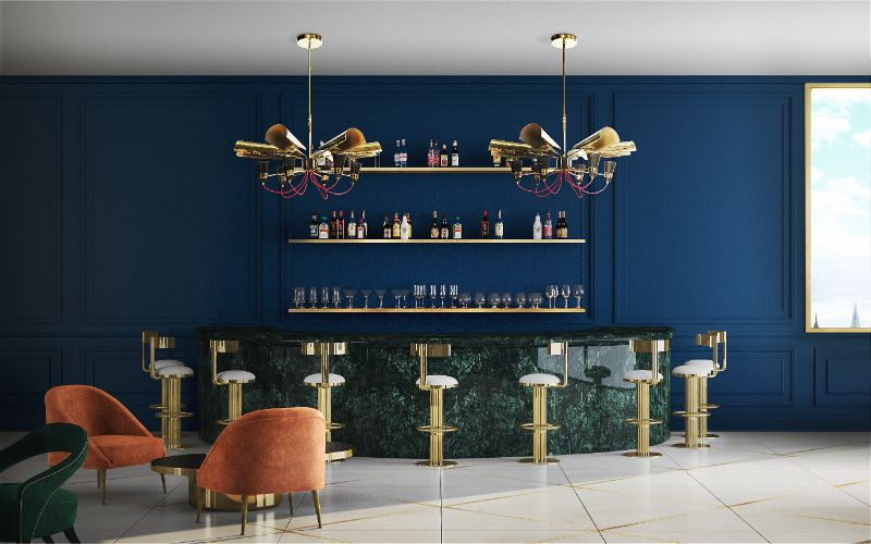 Luxury Bar And Counter Stools For Any Ambitious Project_1
