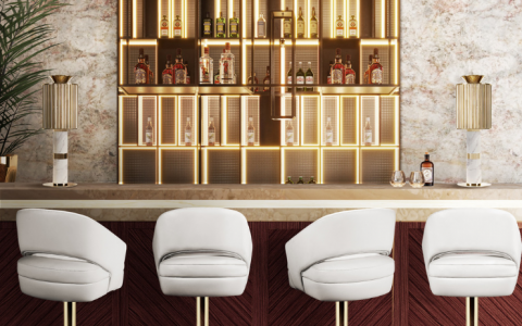 Luxury Bar And Counter Stools For Any Ambitious Project_feat