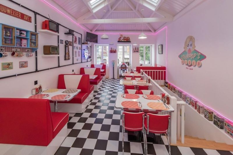 The Lollipops Diner An All-American Diner In The Heart Of Porto (6)