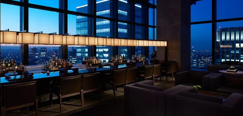 The Most Luxurious Hotel Bars To Feel Like A Million Bucks