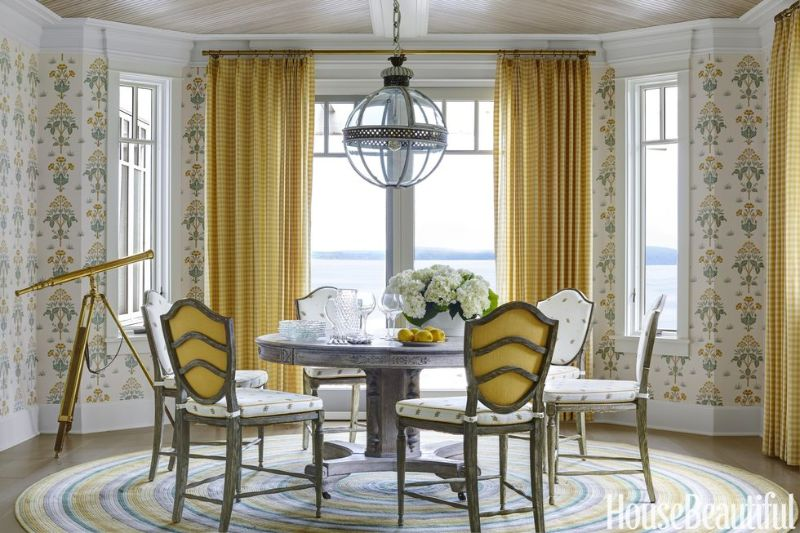 Yellow Dining Room Decor To Shine Bright In Your Home Décor (11)