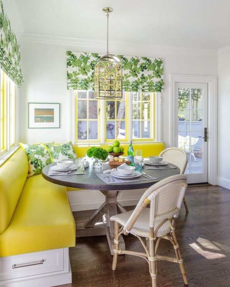 Yellow Dining Room Decor To Shine Bright In Your Home Décor (2)