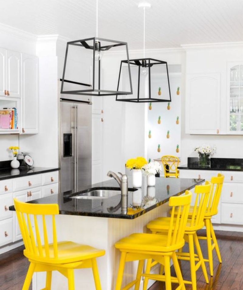 Yellow Dining Room Decor To Shine Bright In Your Home Décor (4)
