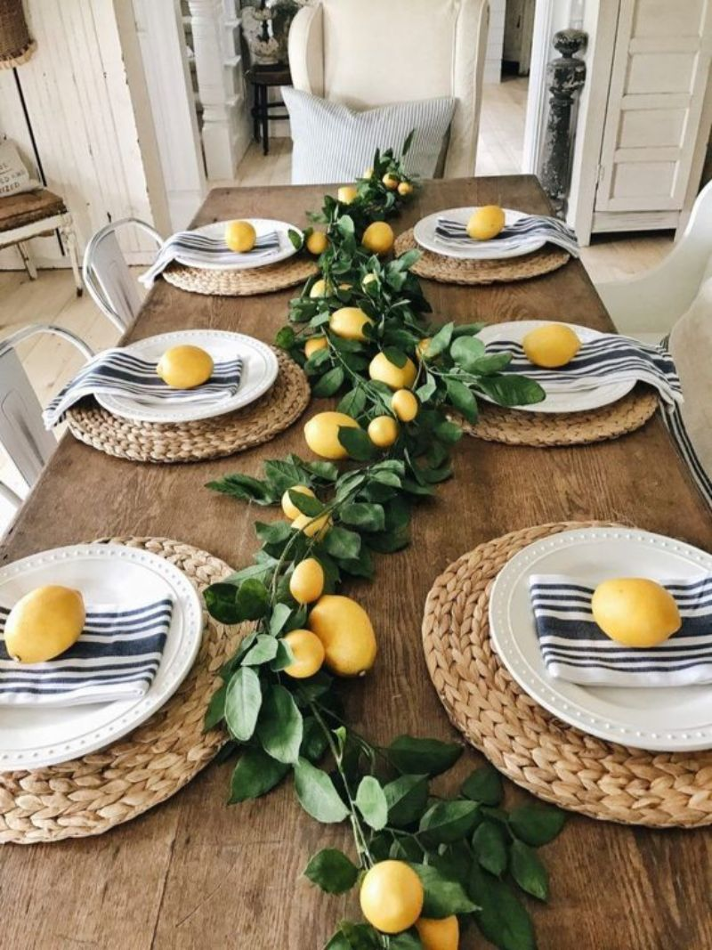 Yellow Dining Room Decor To Shine Bright In Your Home Décor (6)