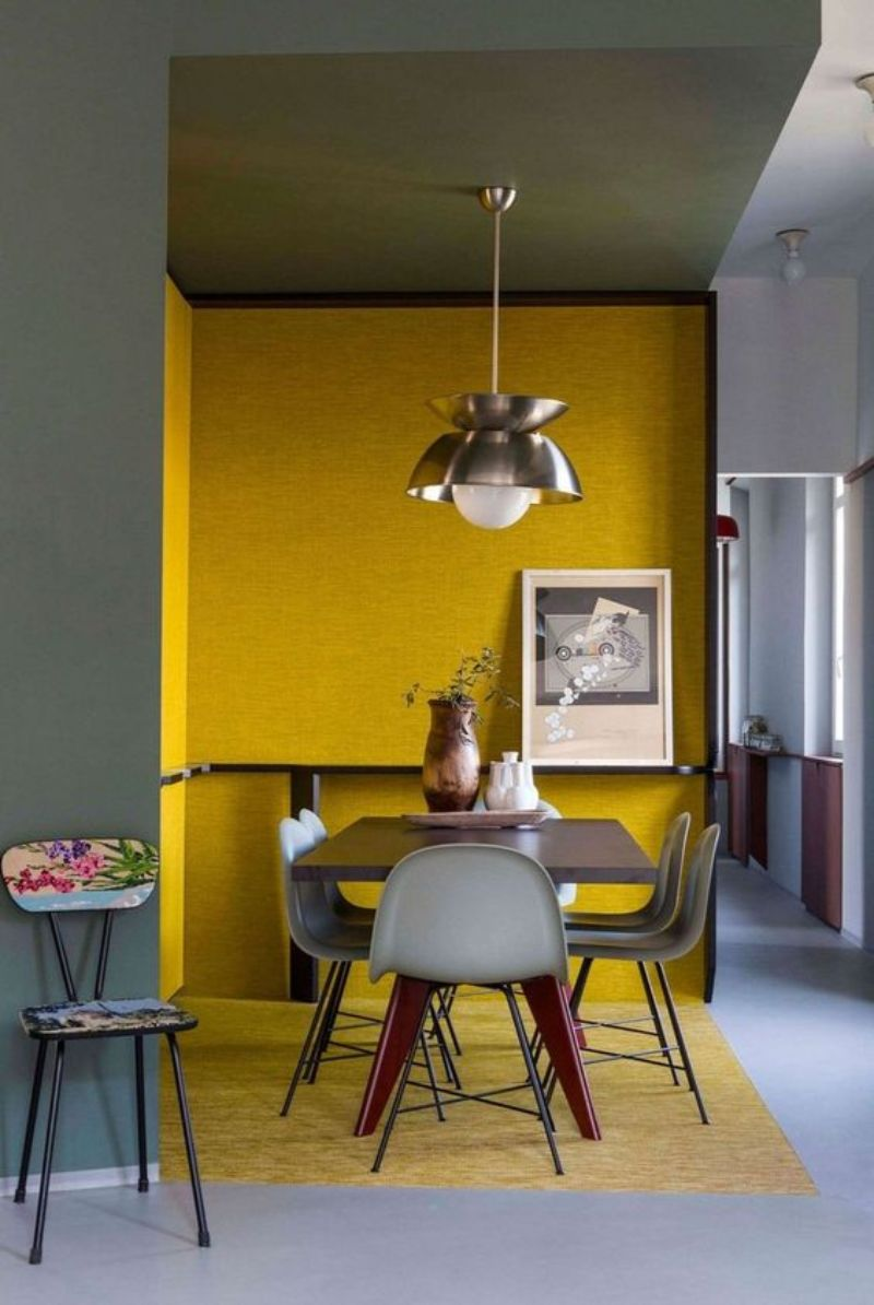 Yellow Dining Room Decor To Shine Bright In Your Home Décor (8)