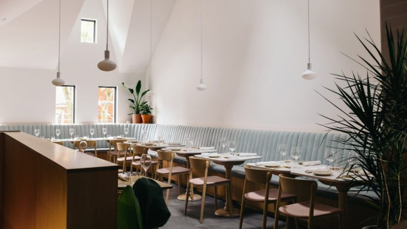Restaurant in Toronto Boasts Minimalist Decor in a Victorian Setting