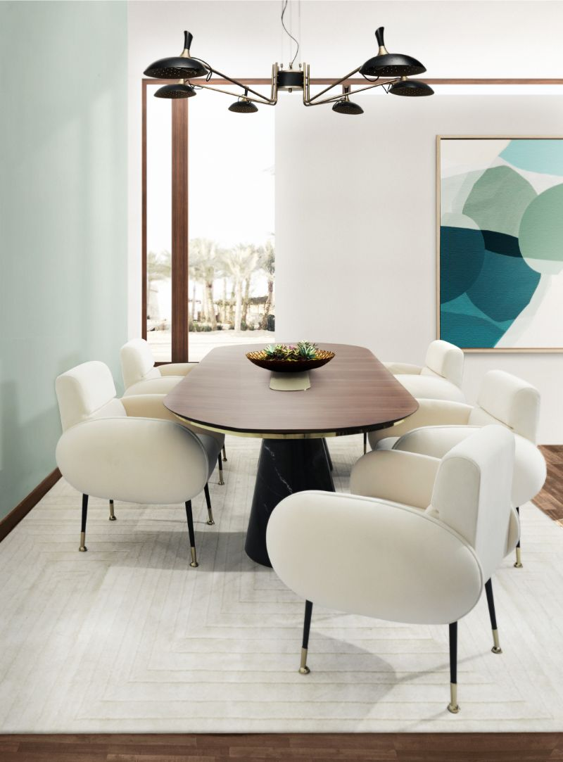 Mid-century Dining Chairs For Your Fall Dining Room