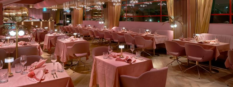 Pretty In Pink: The Pink Restaurants That Will Have You Swooning