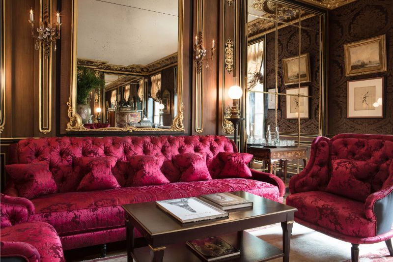 Paris City Guide: Unmissable Design Spots paris city guide Paris City Guide: Design Hotspots You Can't Miss La Reserve Paris Salin Louis XV 1